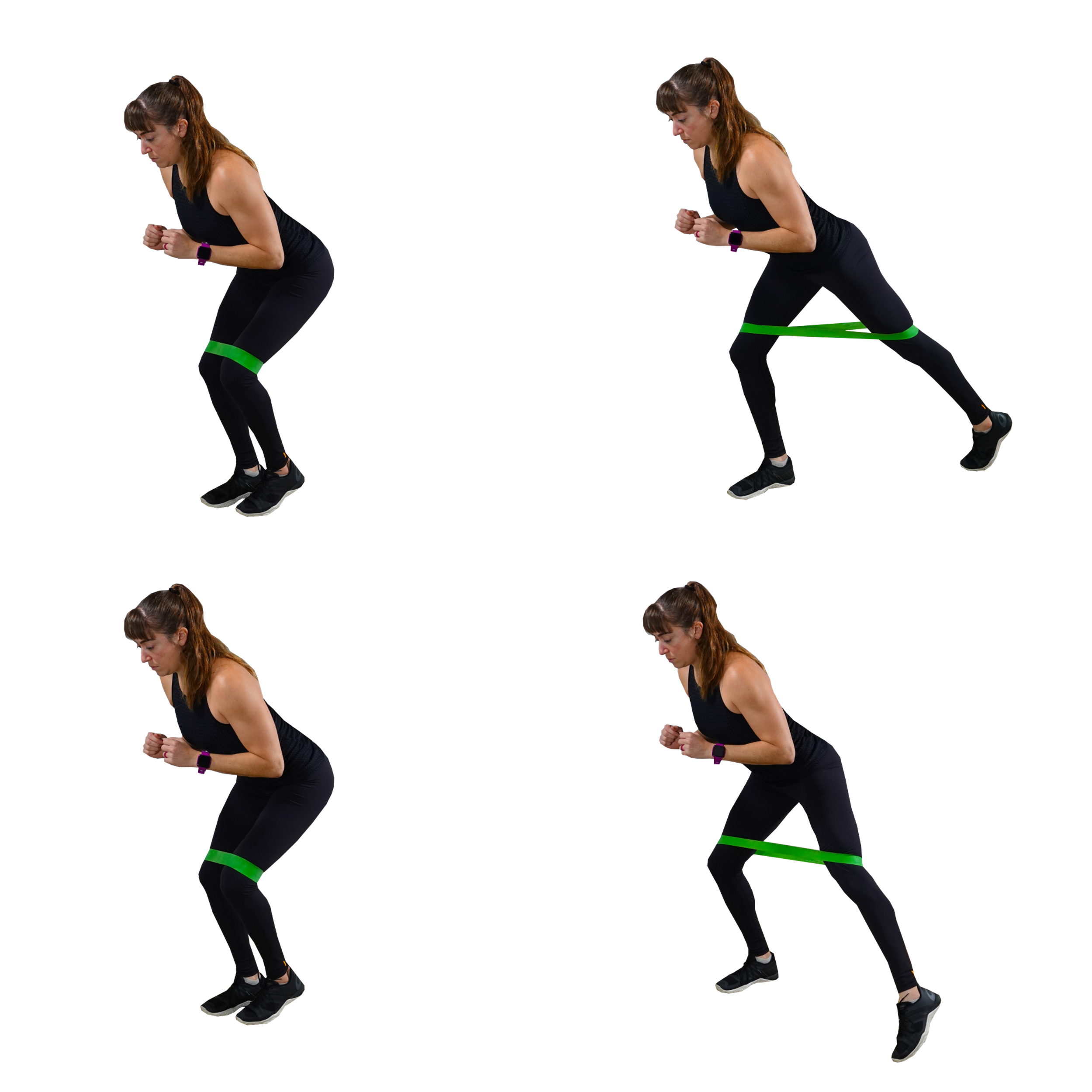 standing glute activation