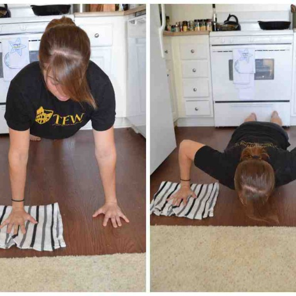 Towel Fly to Push Up