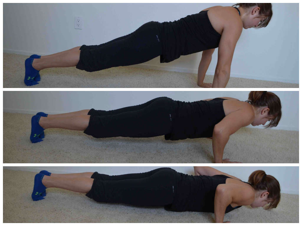 push up holds