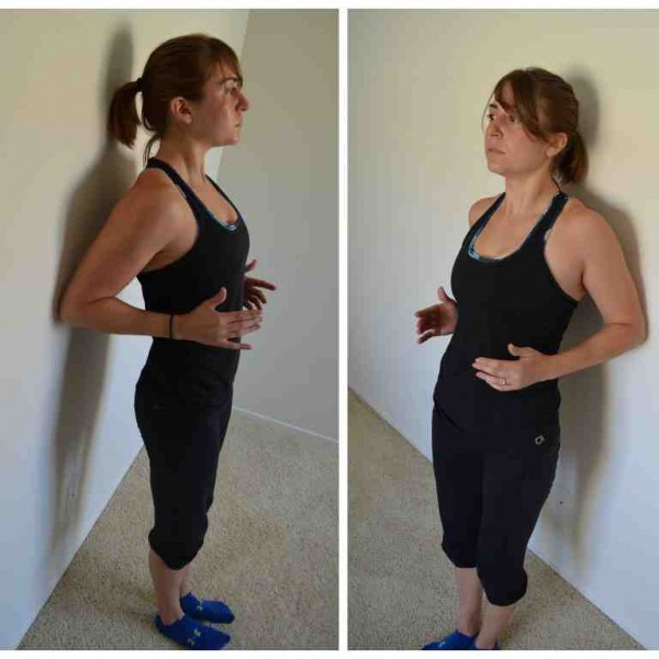 scapular wall hold