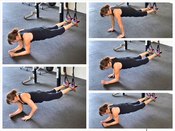 Chest and Back Suspension Trainer Workout