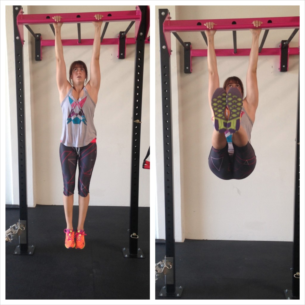 Hanging Double Leg Raise