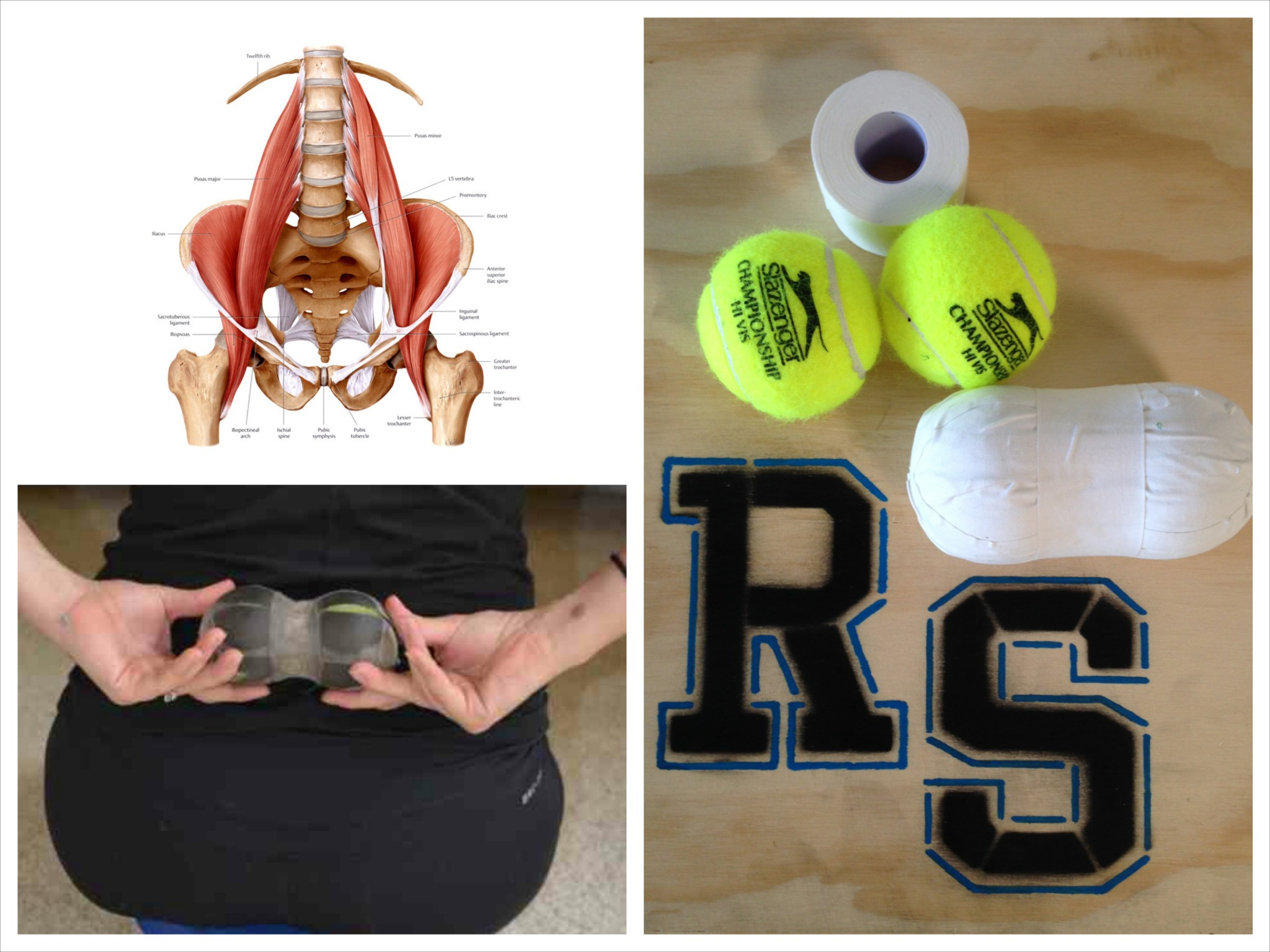 The Peanut – Alleviate back pain with this simple trigger point tool!