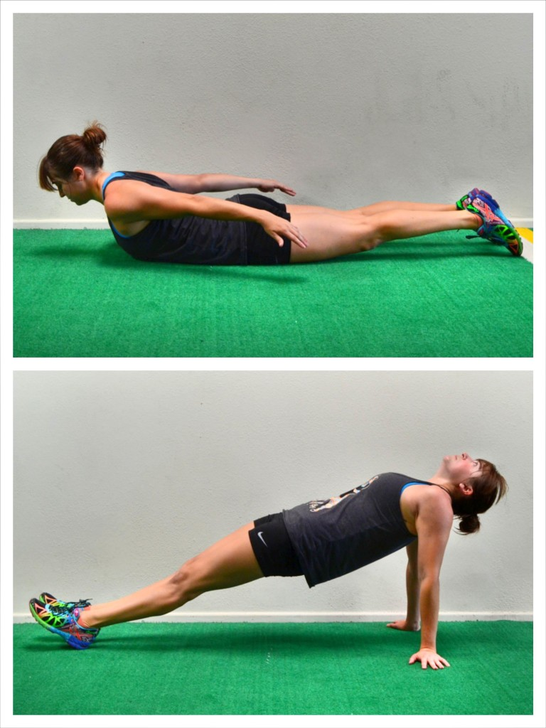 cobra and posterior plank