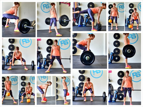 variations of the deadlift