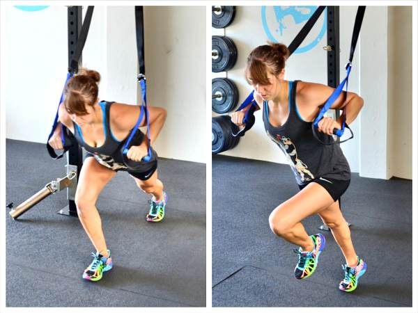 Lower Body Suspension Trainer Workout