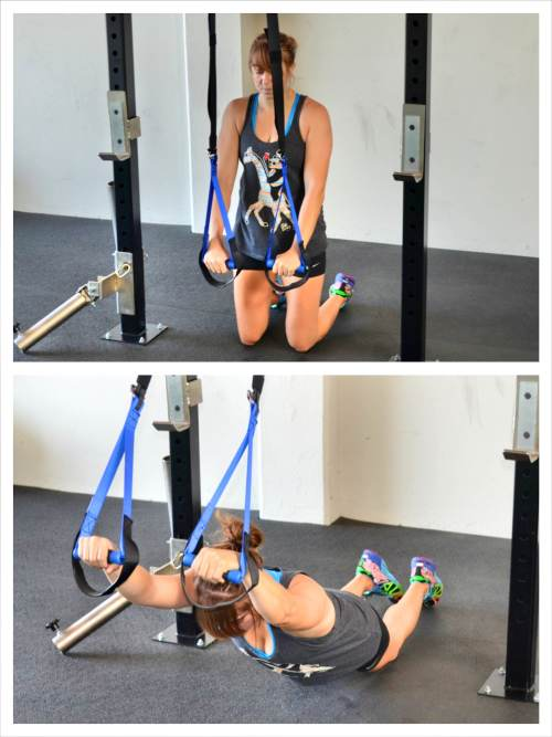suspension trainer ab exercise
