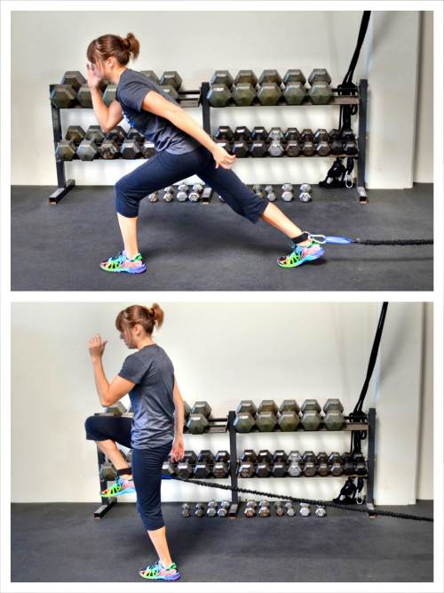 lunge-with-knee-drive