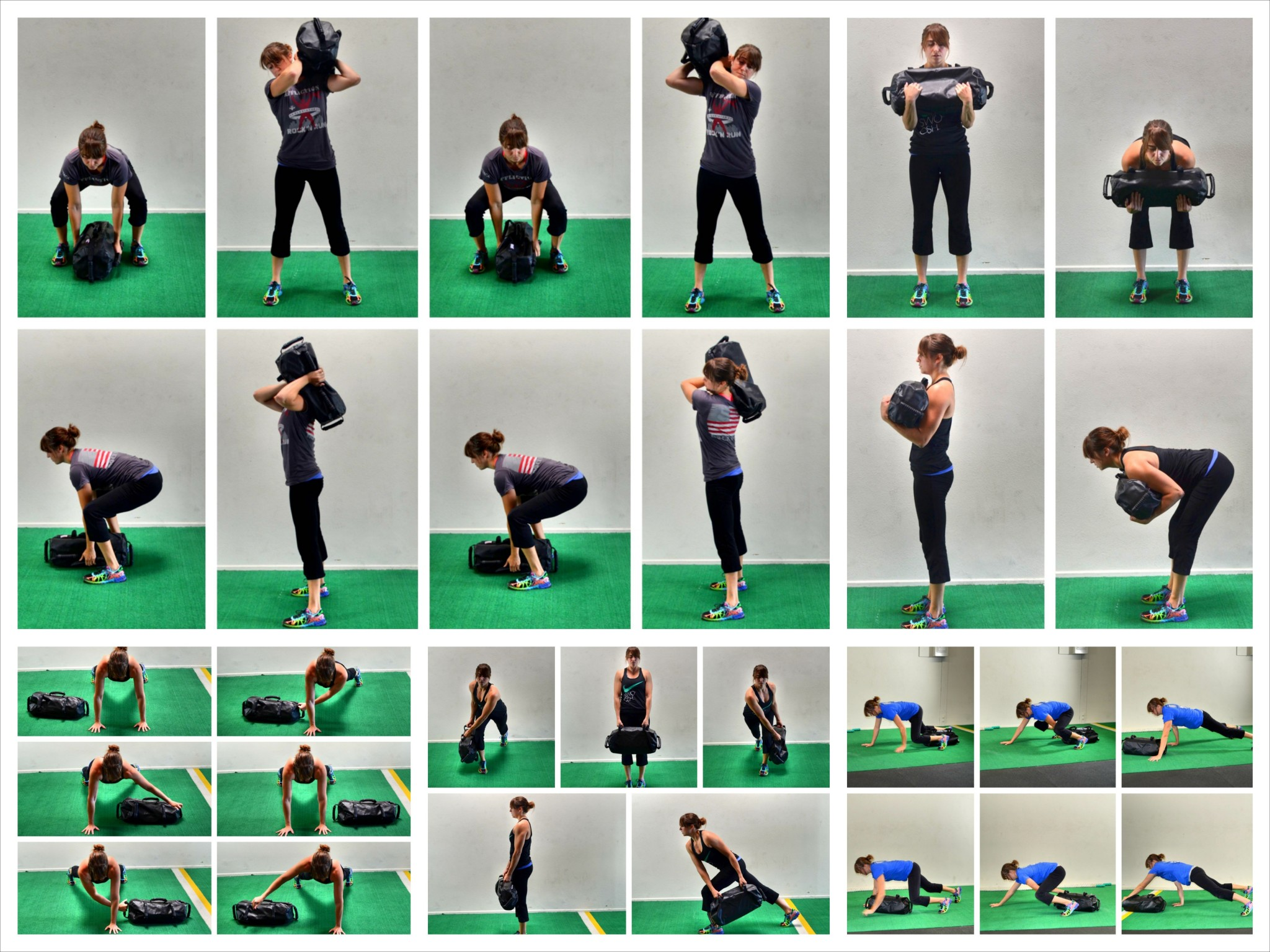 Sandbag Core Exercises – 5 Great Core Moves