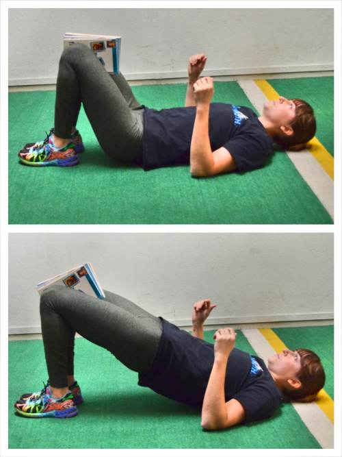glute-bridge-with-block