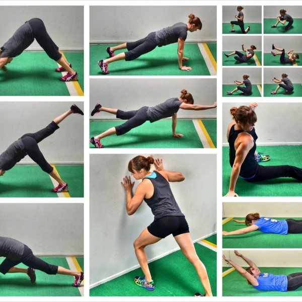 10 Bodyweight Crunchless Core Exercises