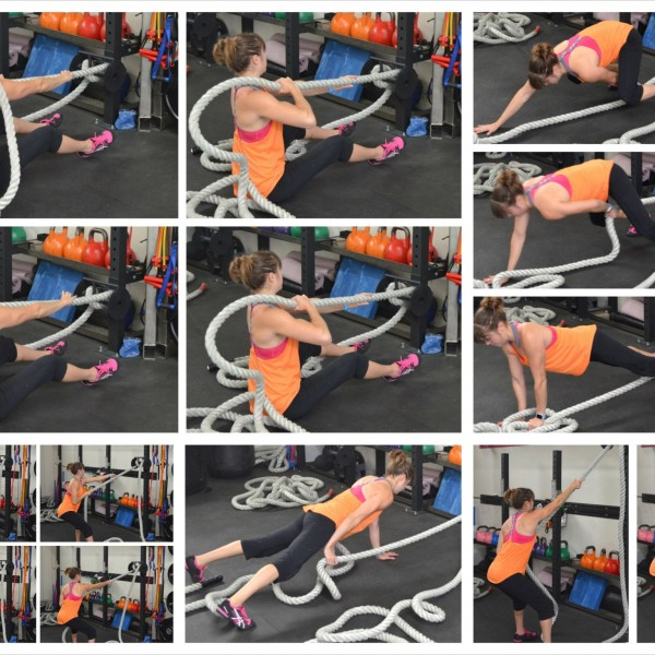 Using the Battle Ropes – Battle Ropes Pulls