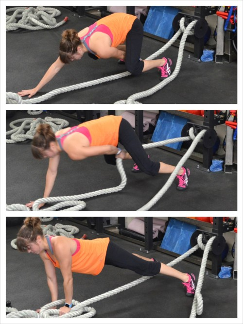 battle-ropes-plank-pull-through
