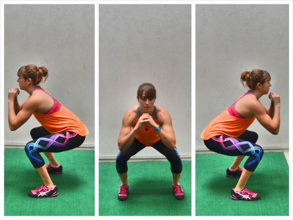 rotational squat jumps