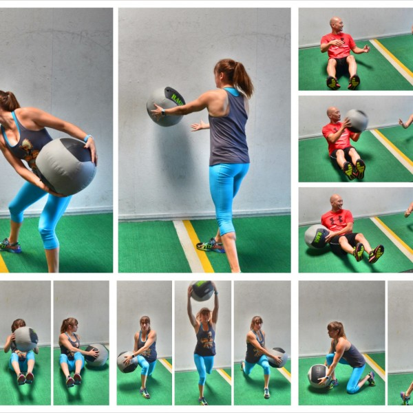 Working Out With The Med Ball – 18 Med Ball Exercises