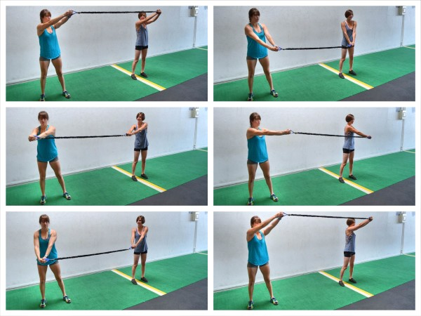The Partner Resistance Band Workout