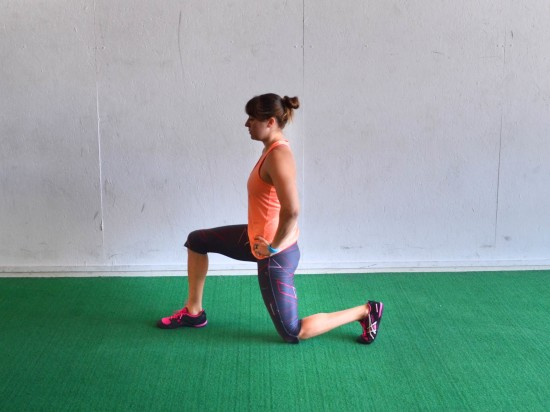 lunge hold