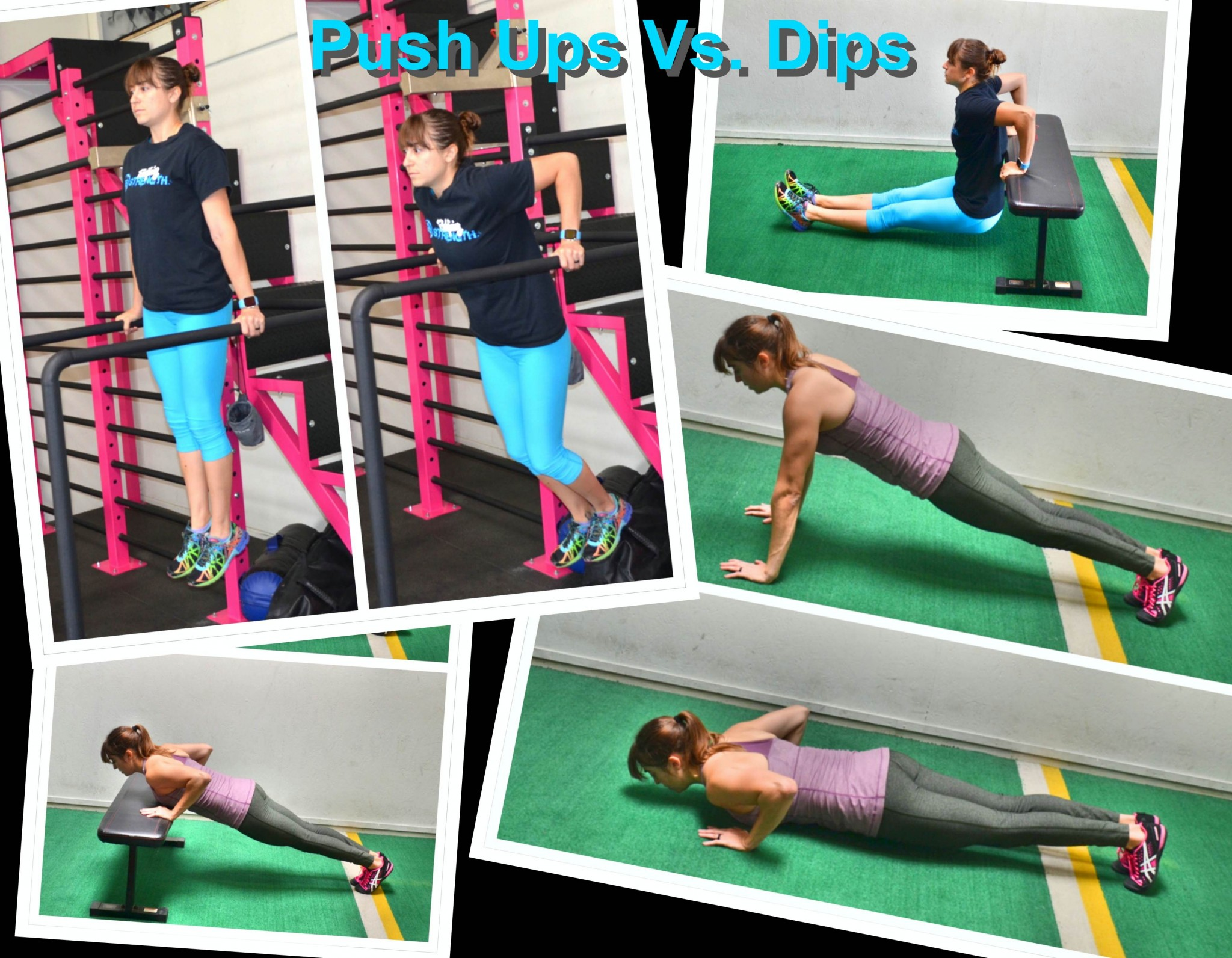 The Push Up Vs. The Dip – Vertical and Horizontal Pressing Exercises