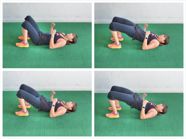 glute bridge pulse