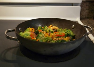 Shrimp and Veggie Stir Fry