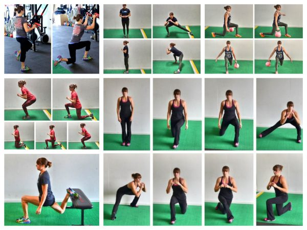 lunge exercises