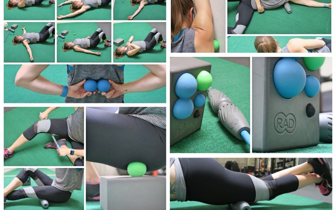 Full Body Foam Rolling