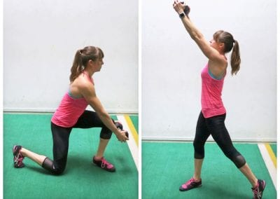 Dumbbell Standing Core Workout
