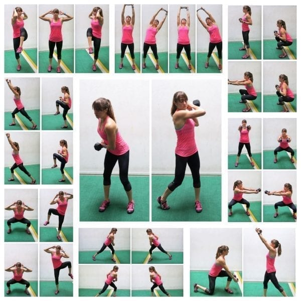 standing core moves