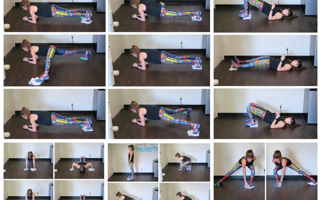 5 Towel Exercises For A Full-Body Workout