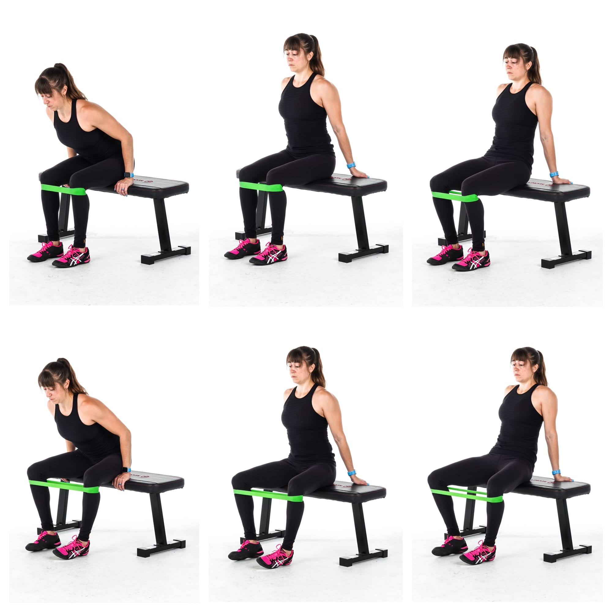 seated abduction glute exercise