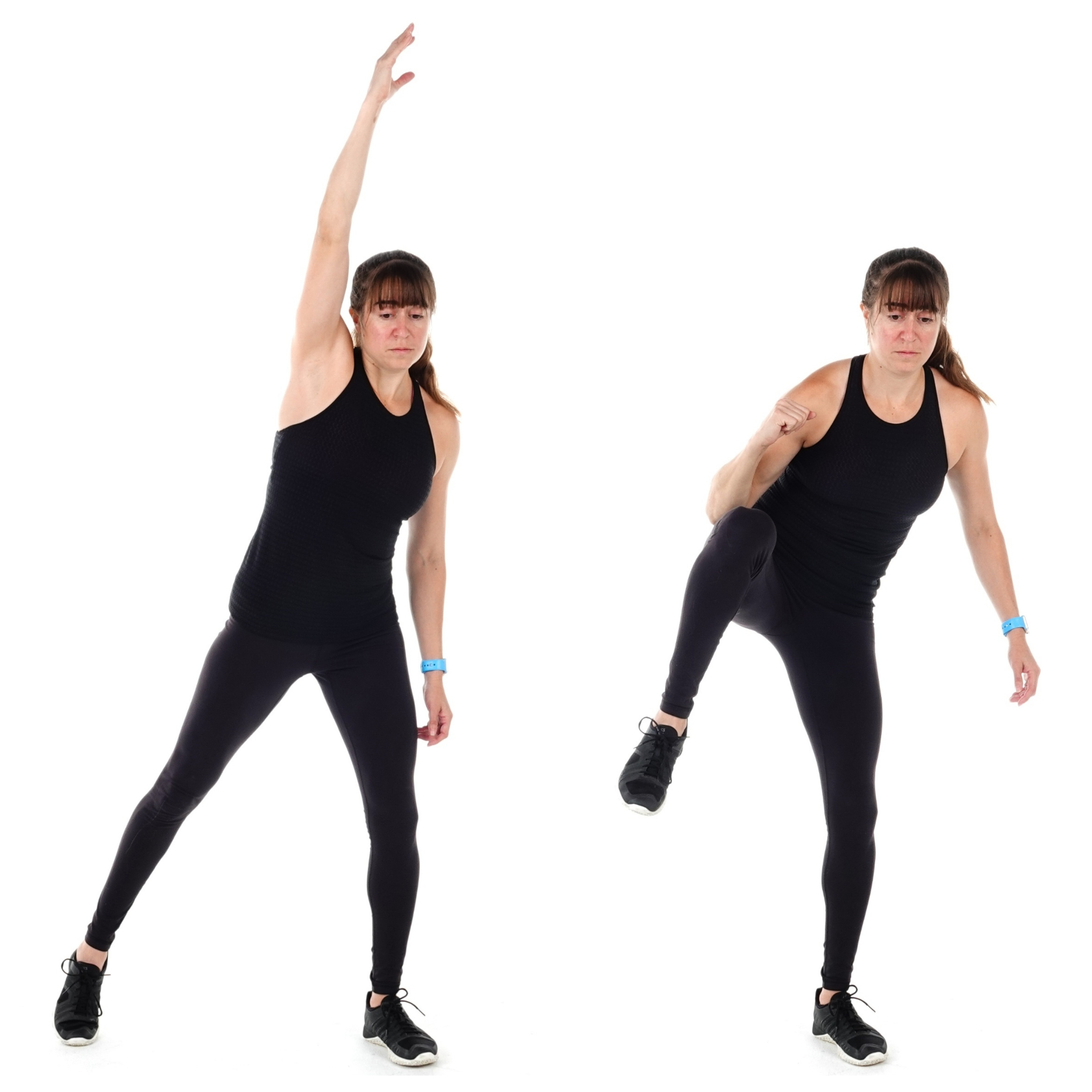 standing core exercise