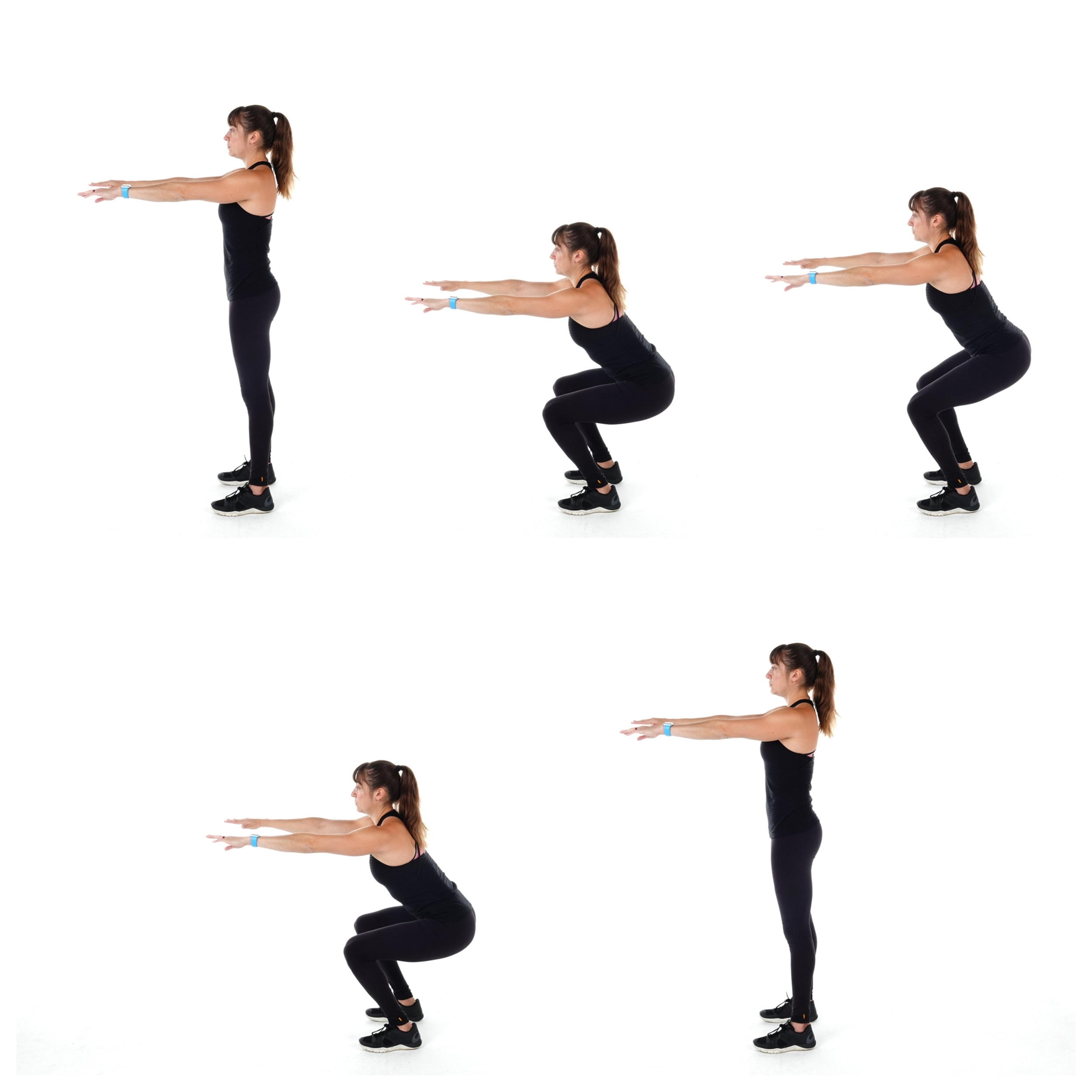 squat with pulse