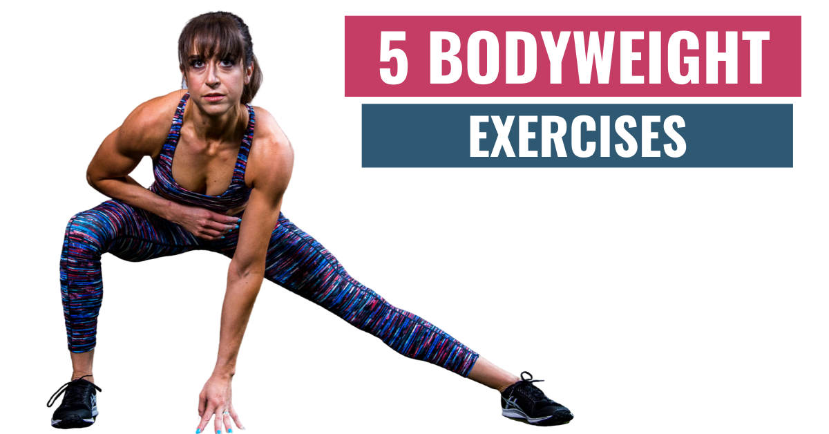 5 Bodyweight Exercises For A Full-Body Workout – Try these 2 Home Workouts!