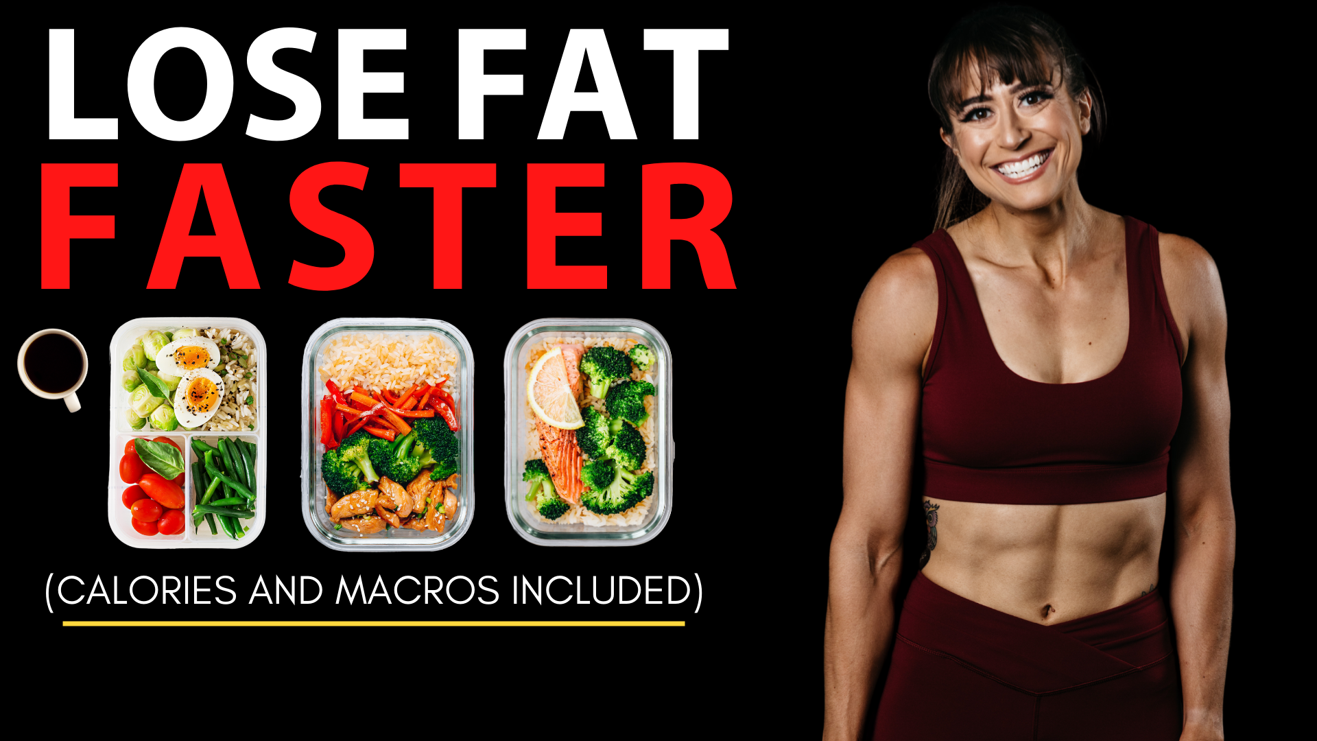The Best Meal Plan To Lose Fat Faster (TRY THIS!)