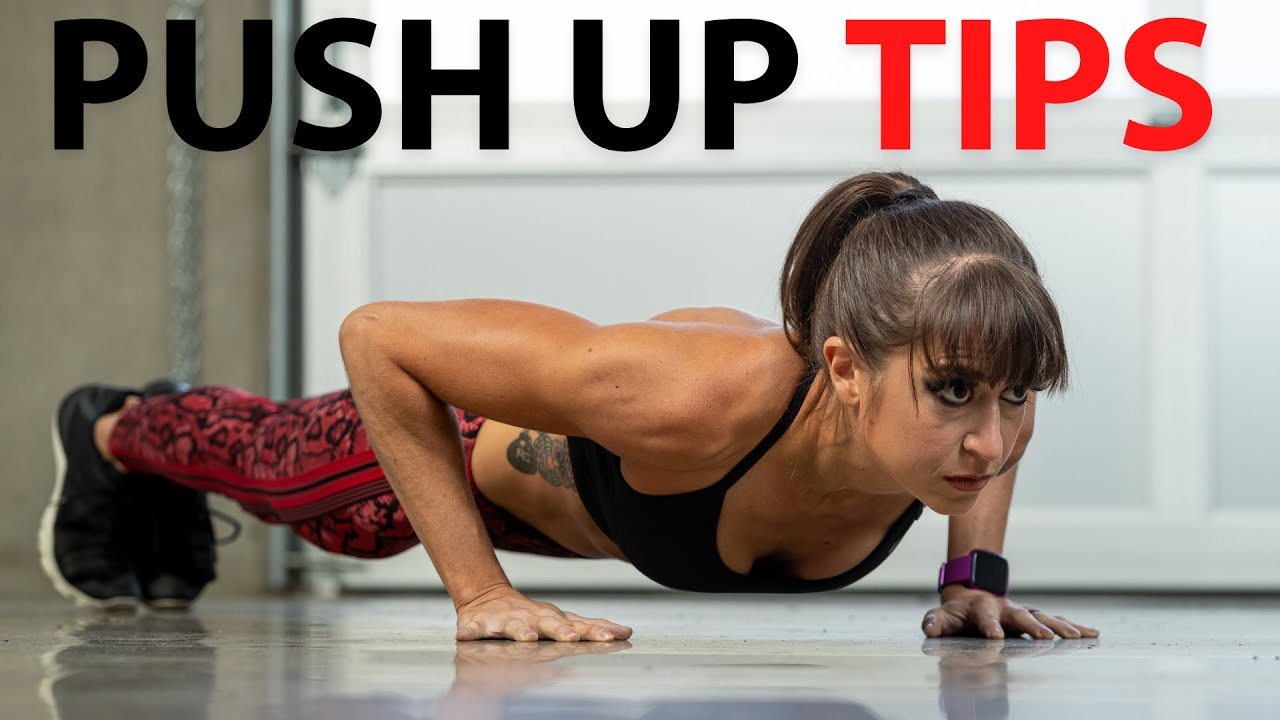 Push-Ups For Beginners –  5 Simple Tips To Perfect Your Push Up