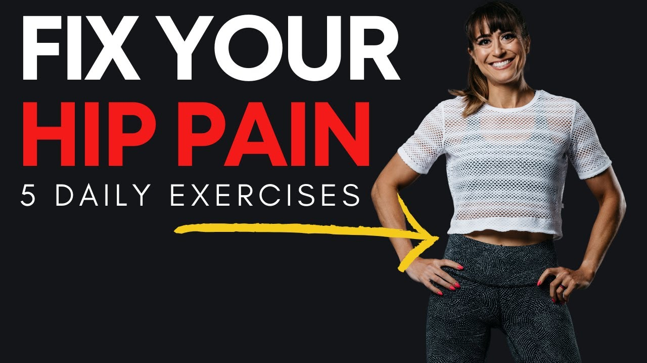 5 moves for hip pain