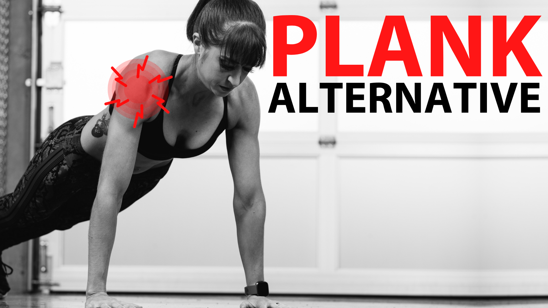 Shoulder Pain With Planks? Try This!